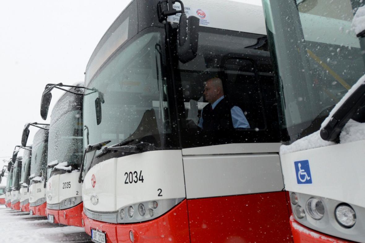 Pražské midibusy