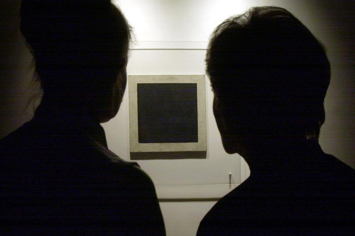 Kazimir Malevič / Černý čtverec na bílém poli