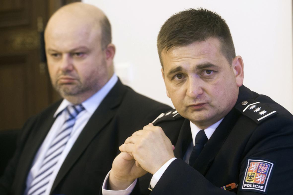 Martin Pecina a Martin Červíček