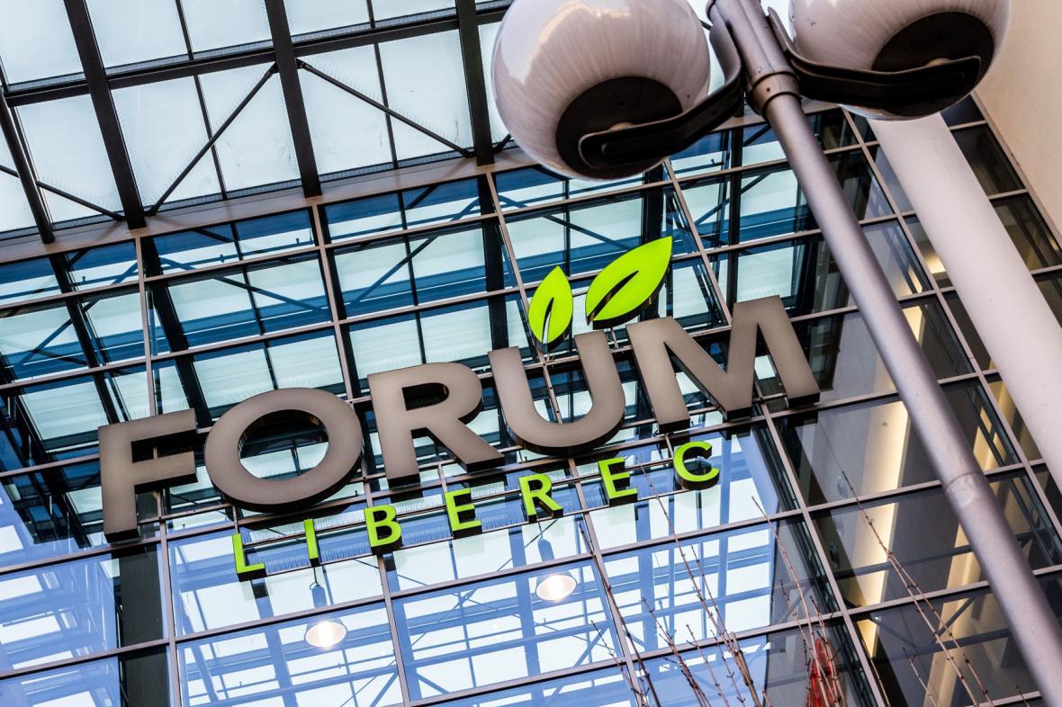 Obchodní dům Forum v Liberci