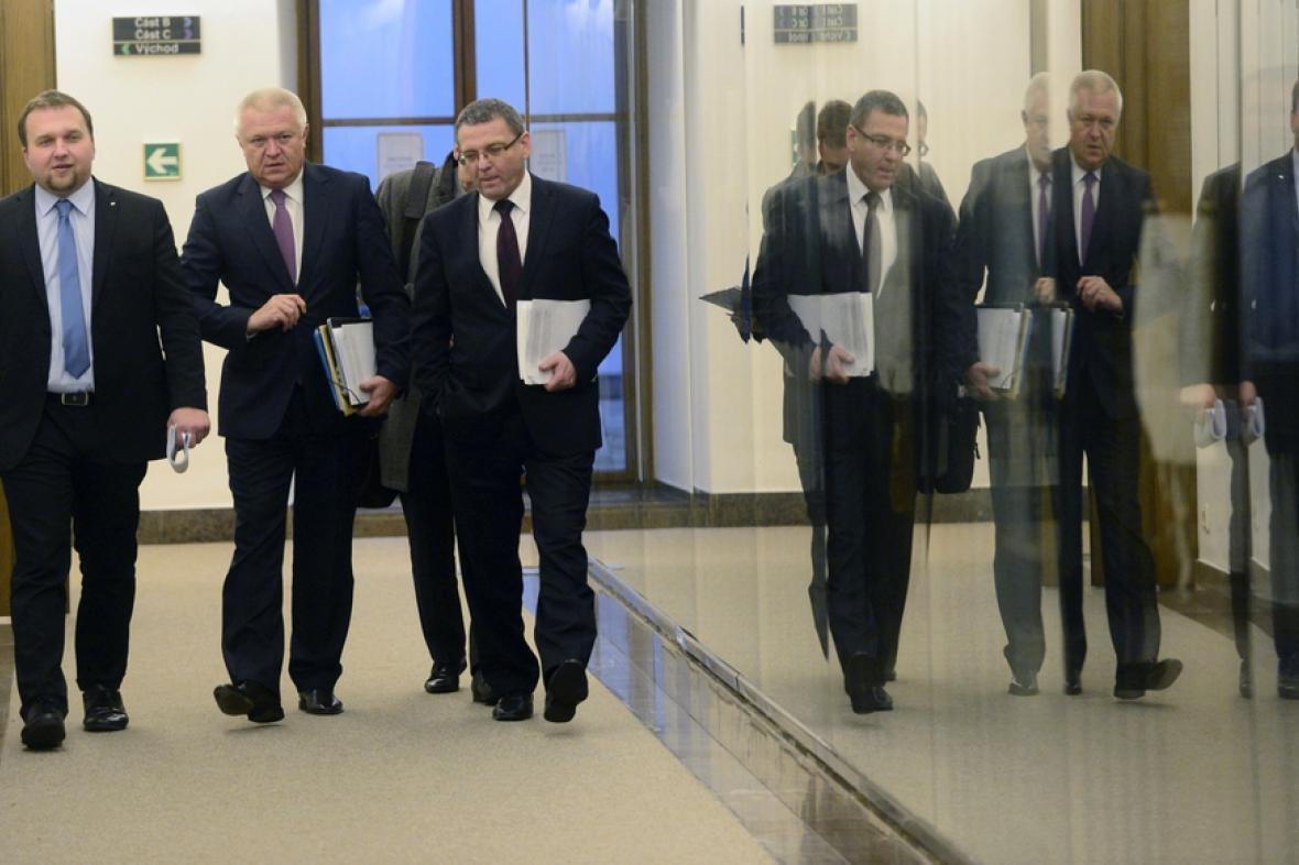 Seriál vládních vyjednávání