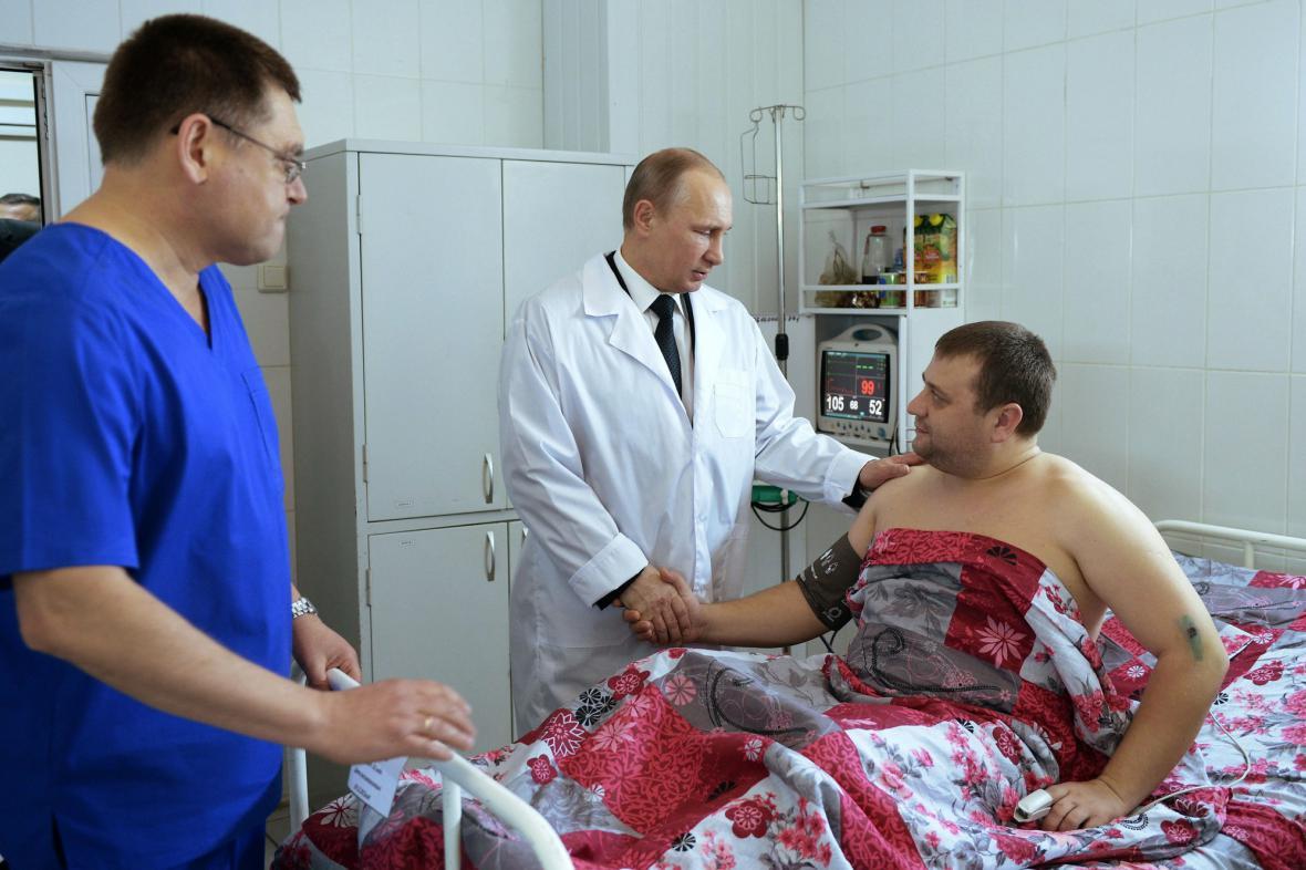 Vladimir Putin v nemocnici