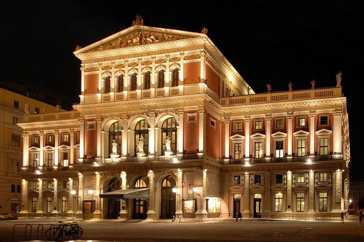Budova Spolku přátel ve Vídni (Musikverein)