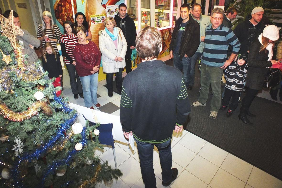 Vánoční soutěž v boskovických lázních