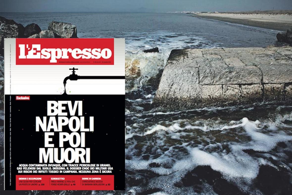 Napít se v Neapoli a zemřít, hlásí l'Espresso