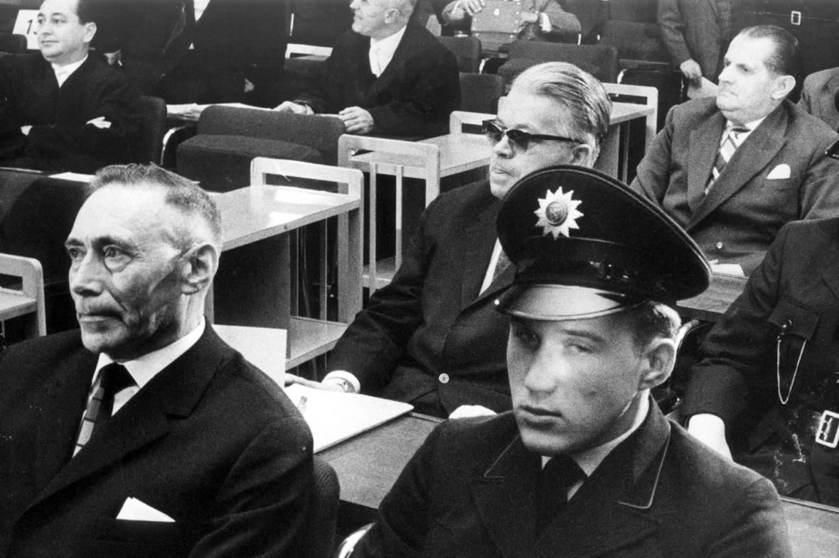 Proces s osvětimskými dozorci ve Frankfurtu