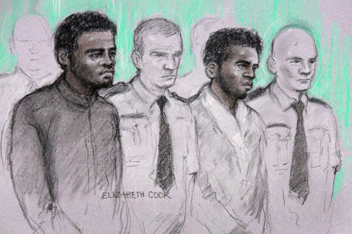 Soud s údajnými vrahy vojáka Rigbyho