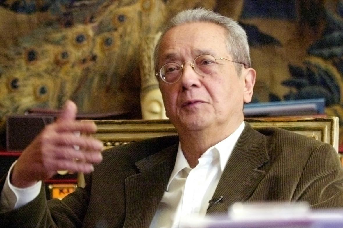 Jacques Vergés na snímku z roku 2004