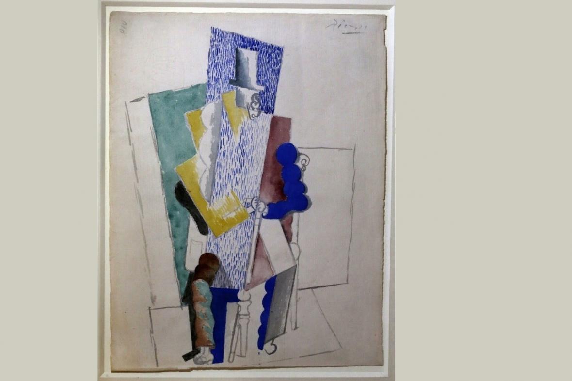 Pablo Picasso / Muž s operním kloboukem