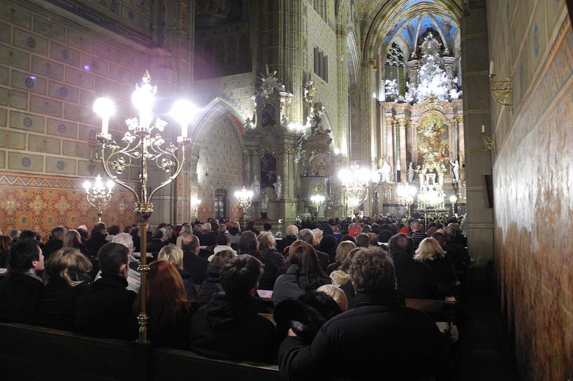 Z Adventního koncertu policistů a strážníků v Brně