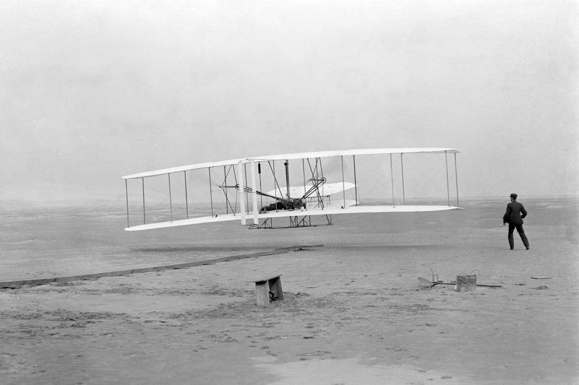 První let bratří Wrightů
