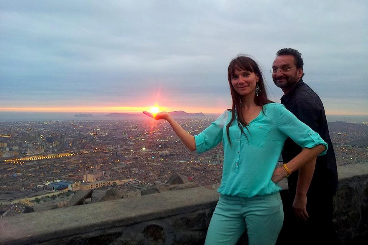 Otakáro M. Schmidt a Jana K. Studničková natáčeli i v Peru