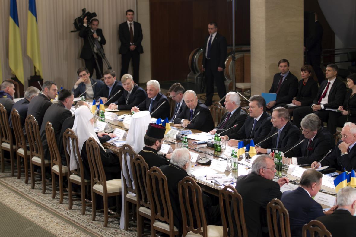 Kyjevské jednání zástupců opozice a státní moci