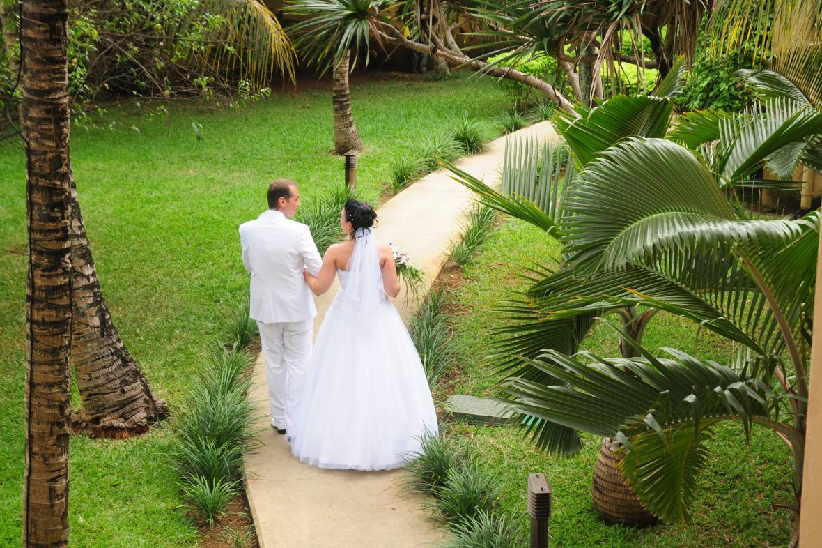 Exotická svatba