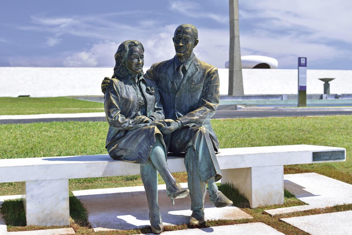 Juscelino Kubitschek s manželkou Sarah