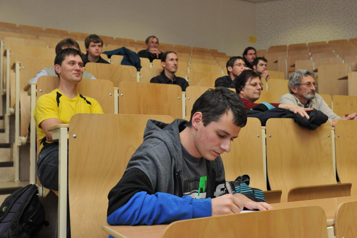 Přednáška na Univerzitě Pardubice