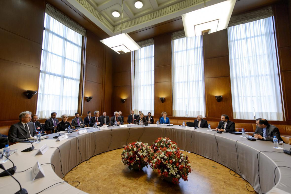 Ženevská jednání o íránském jaderném programu