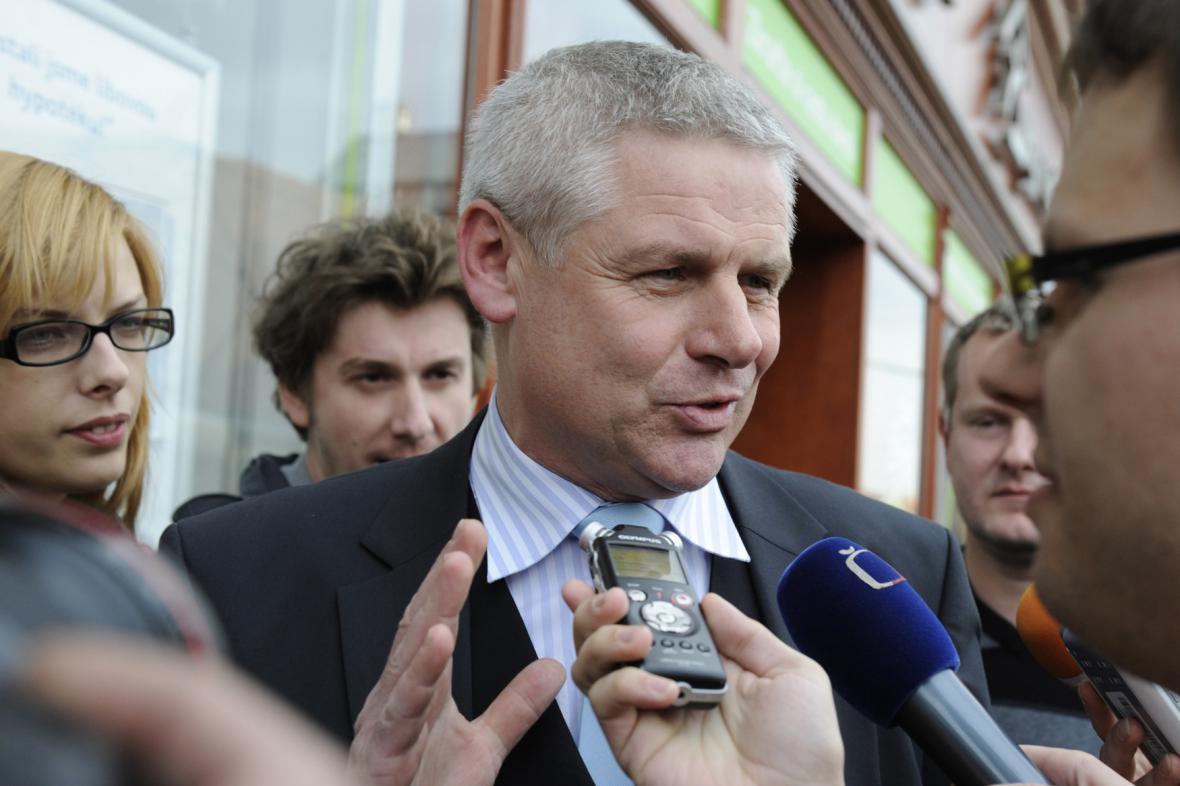 Milan Šťovíček, starosta Litvínova