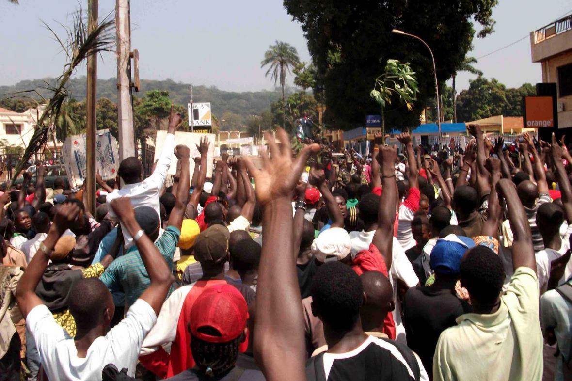Protesty ve Středoafrické republice