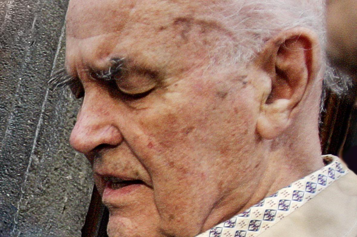 Erich Priebke v roce 2007
