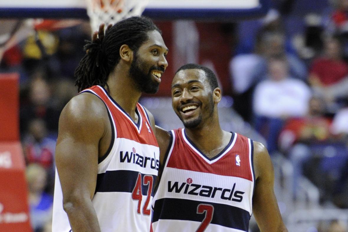 Radost basketbalistů Washingtonu