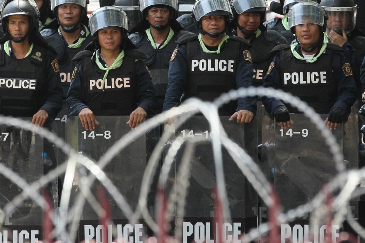 Ozbrojené síly střeží vládní komplexy v Bangkoku