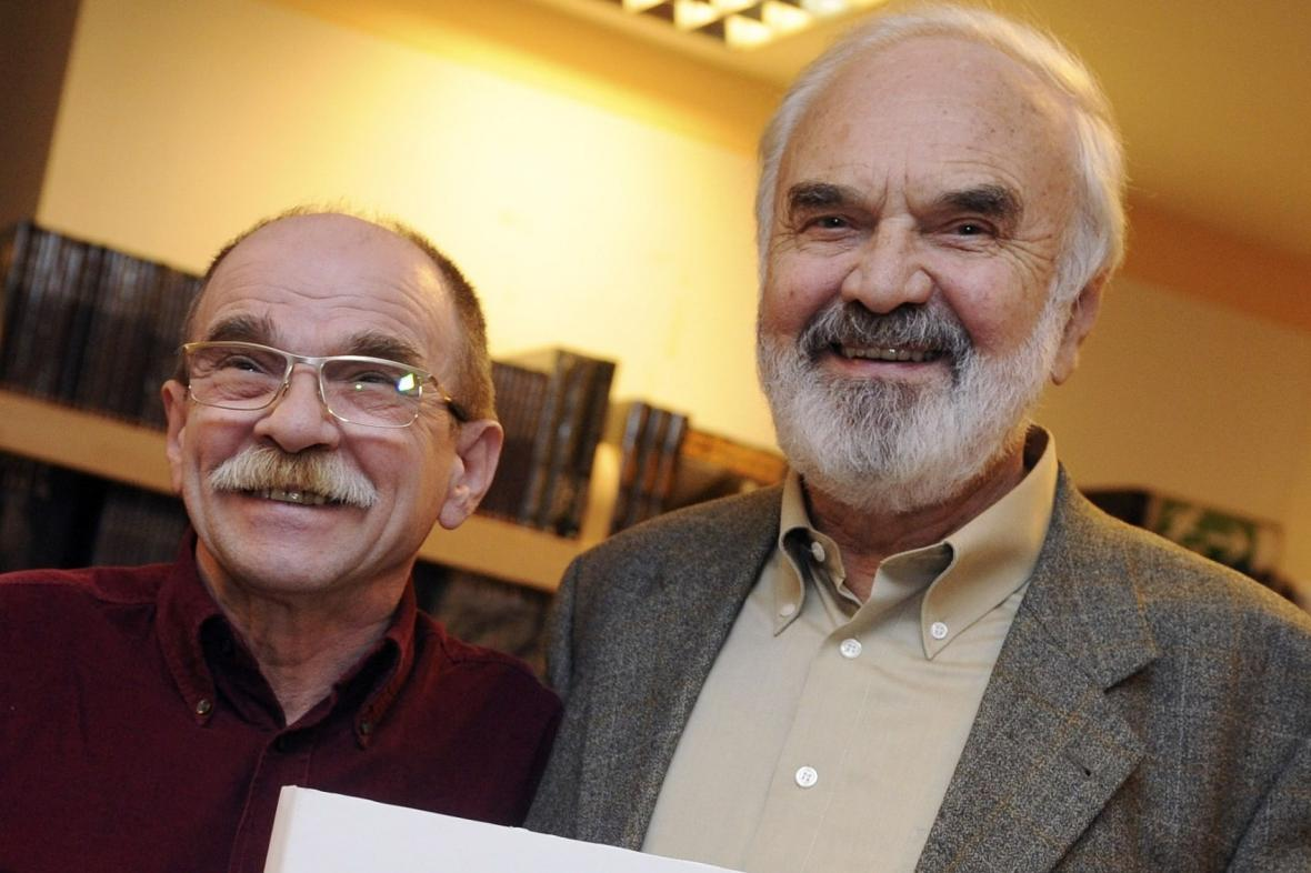 Jaroslav Uhlíř a Zdeněk Svěrák