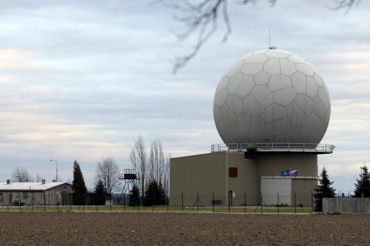 Radar protiraketové obrany
