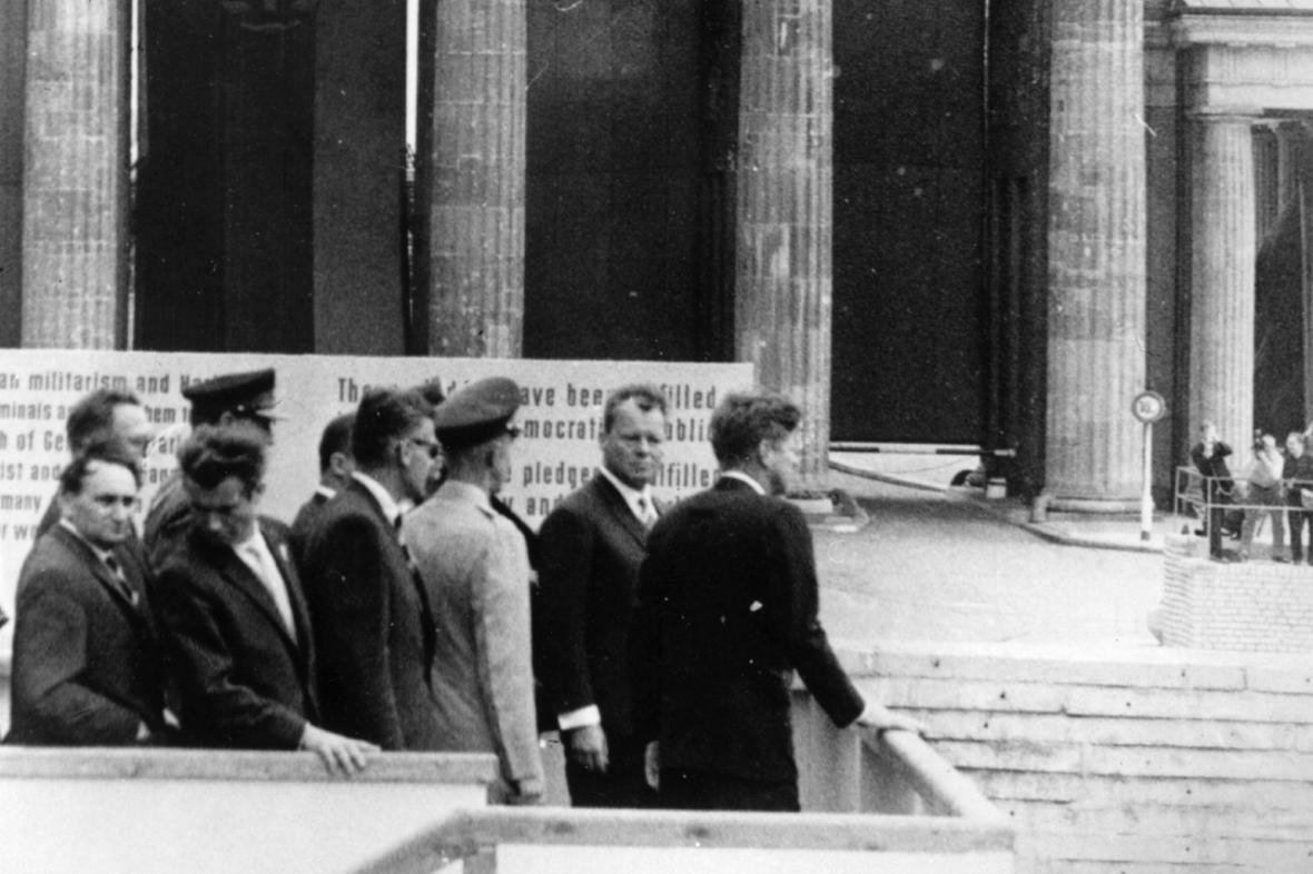 J. F. Kennedy v Berlíně v roce 1963