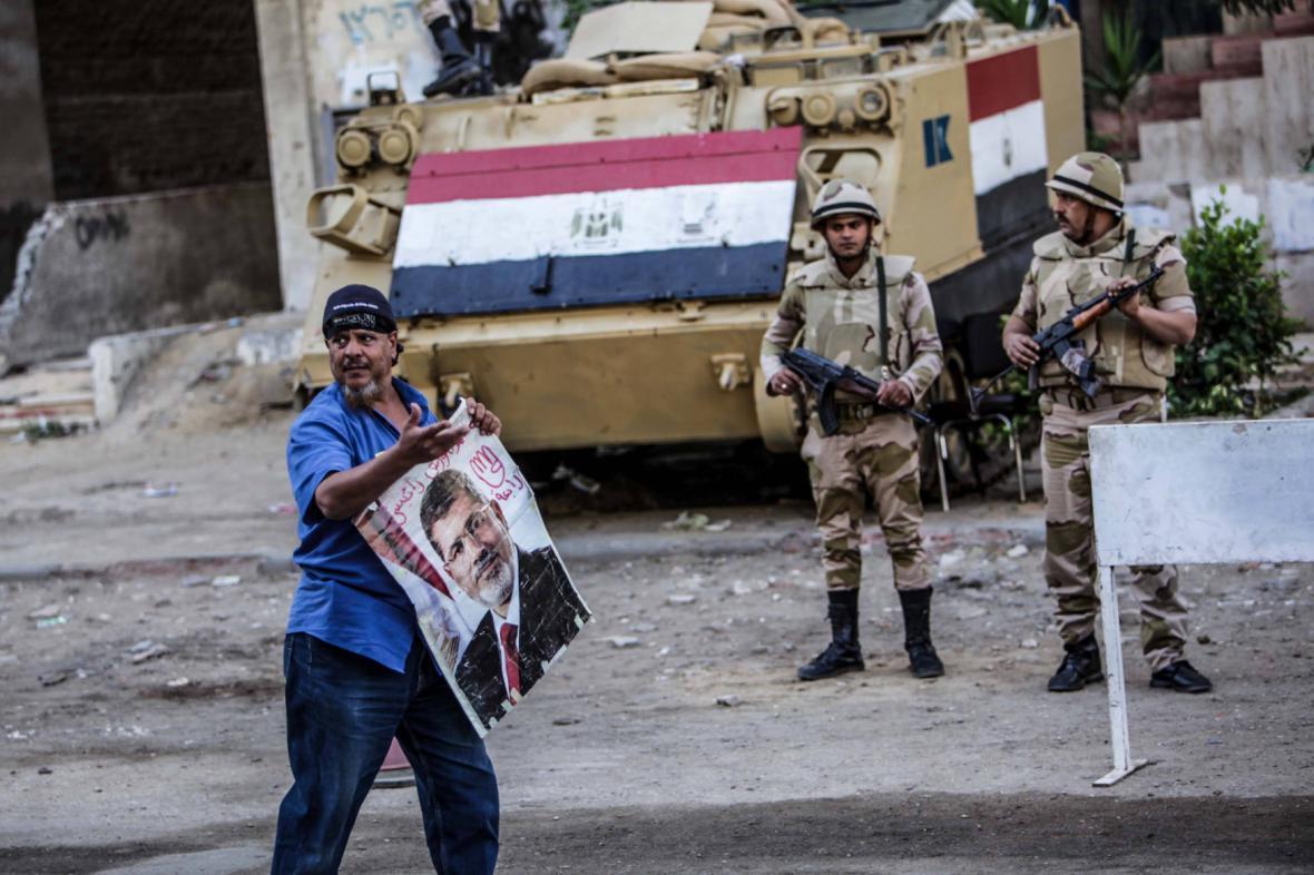 Protesty Mursího přívrženců