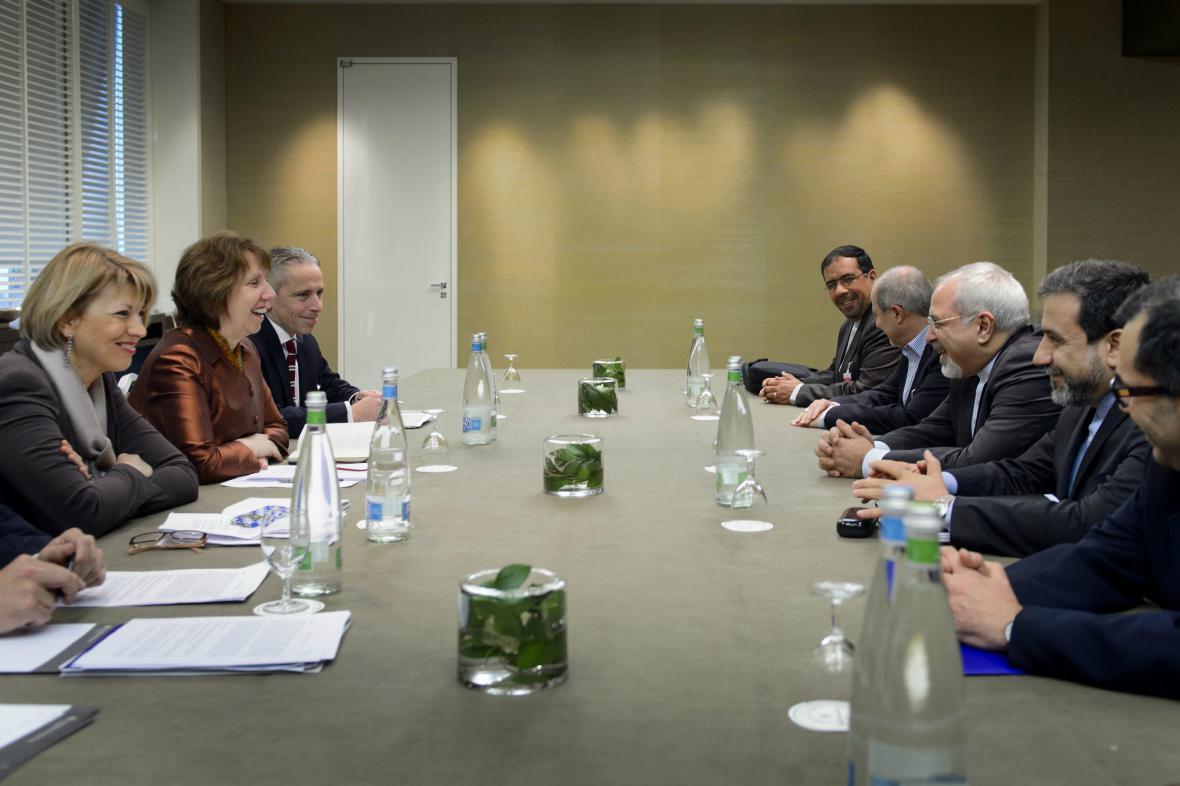 Ženevské rozhovory o íránském jaderném programu