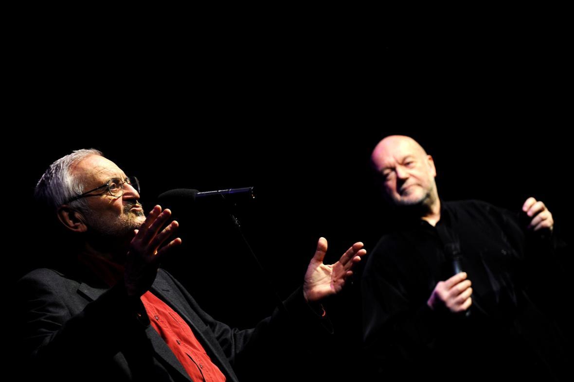 Milan Lasica a Peter Lipa