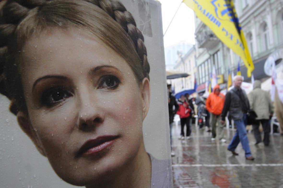 Bývalá ukrajinská premiérka Julija Tymošenková