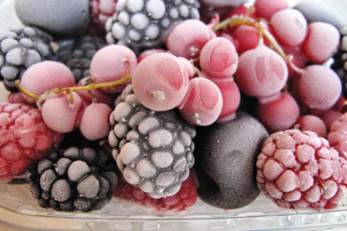 Zmražené ovoce
