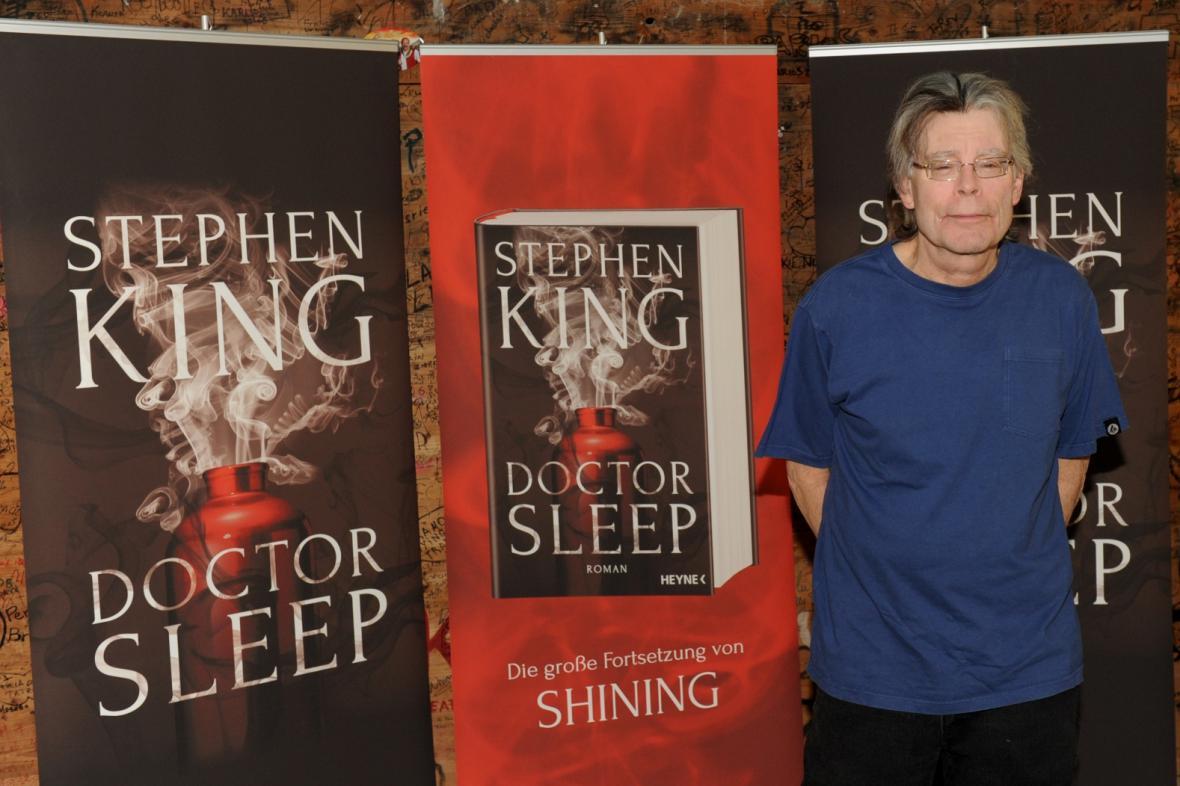 Stephen King napsal novou knihu Dr. Sleep