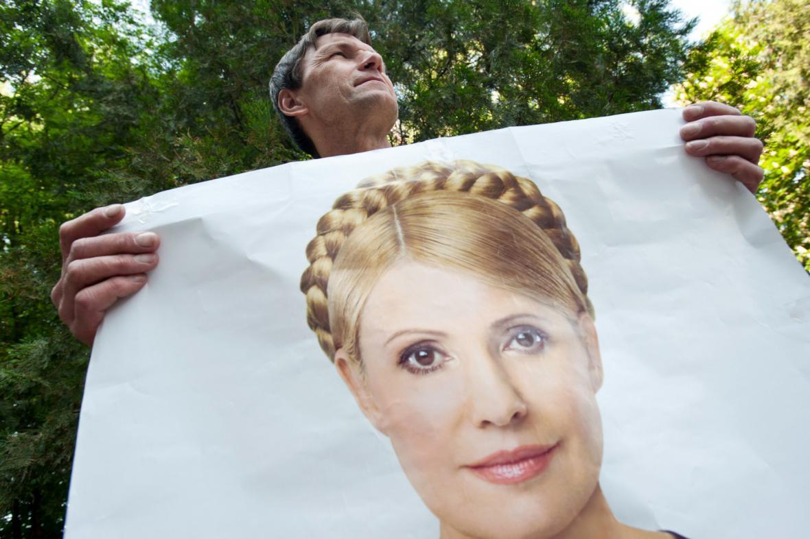Příznivec Julije Tymošenkové