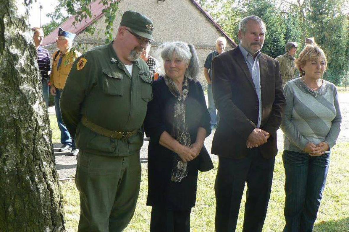 Ludmila Zouharová, rozená Švédová, si připomíná svého otce