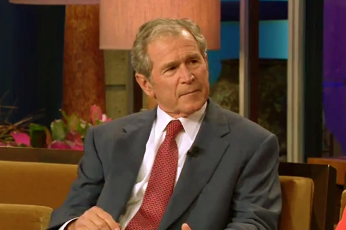 George Bush u Jaye Lena