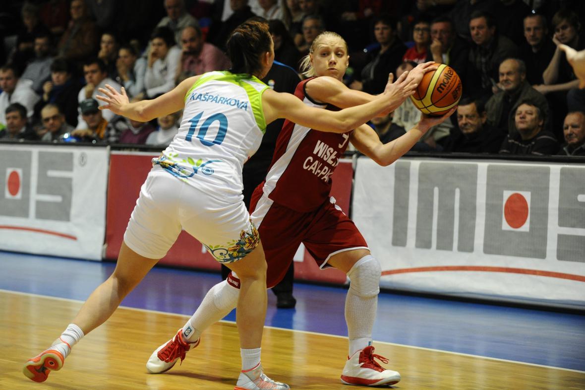 Utkání IMOS Brno - Wisla Krakov