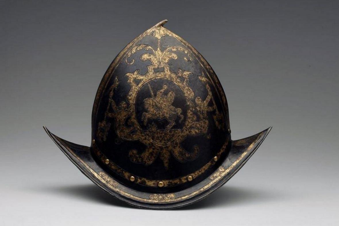 Přilba ze 16. století