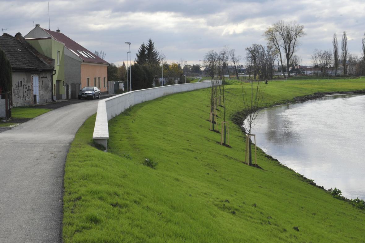 Protipovodňová ochrana jižní části Olomouce