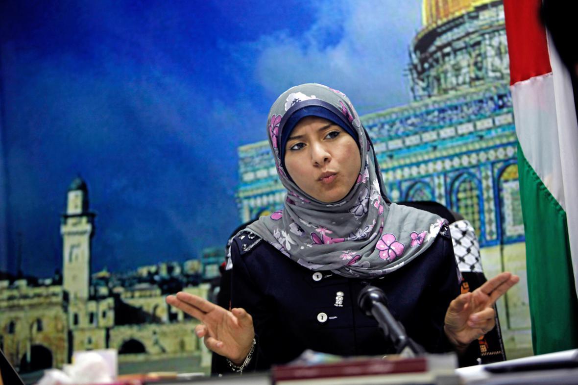Mluvčí Hamasu Isrá Mudallalová