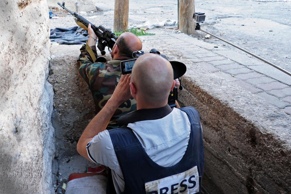 Média pečlivě sledují dění v Sýrii