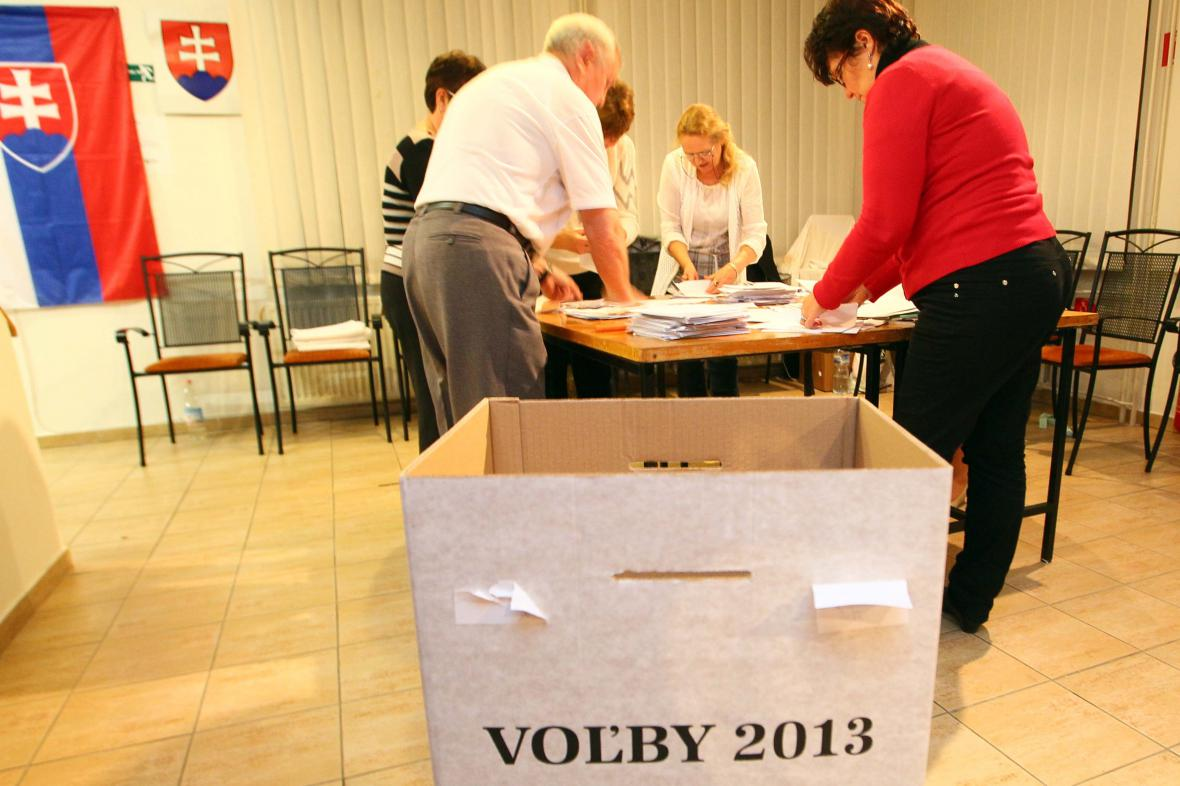 Krajské volby na Slovensku