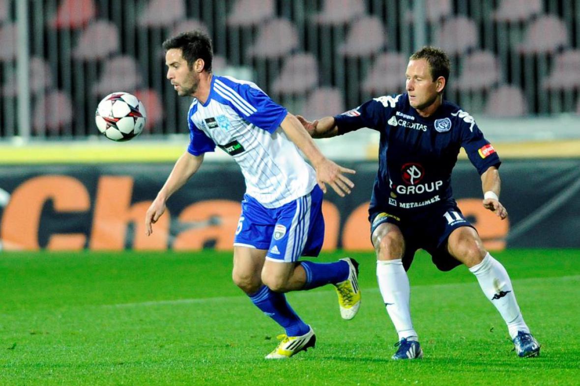 Utkání 1. SC Znojmo - 1. FC Slovácko