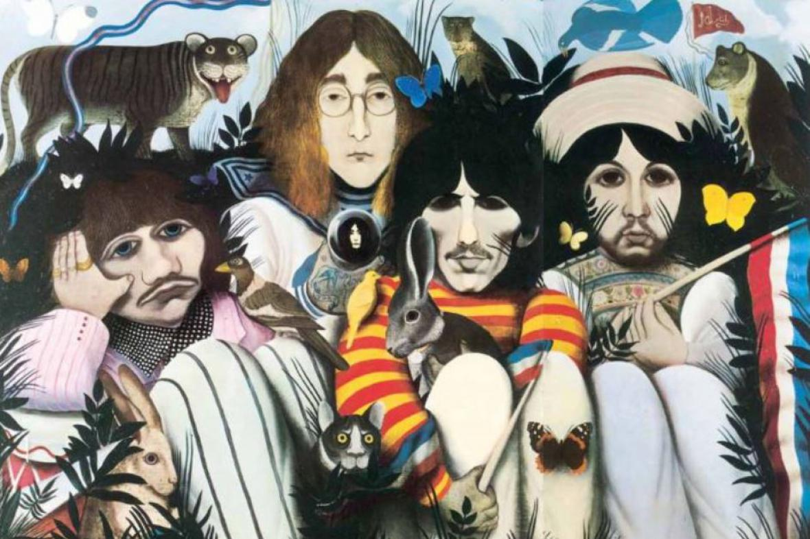 The Beatles v písních a obrazech