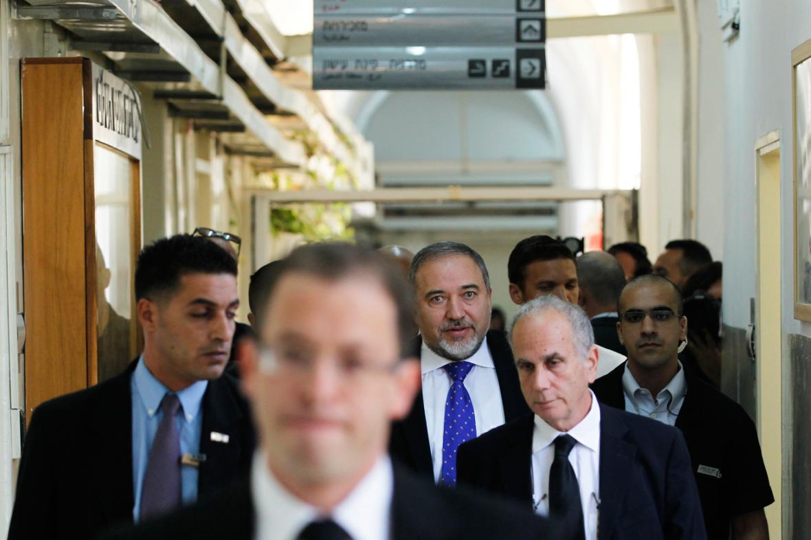 Avigdor Lieberman u soudu