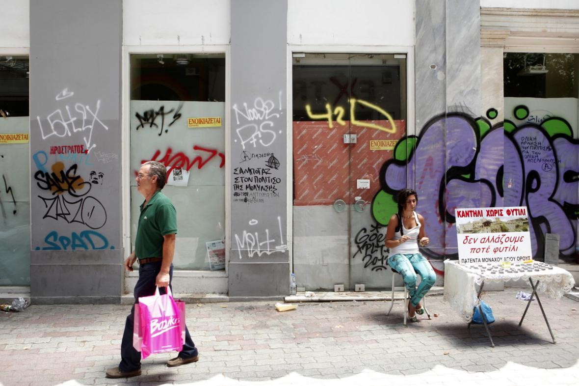 Hospodářská krize v Řecku