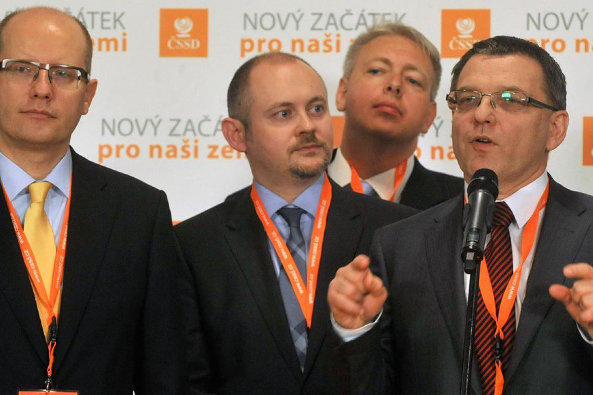 Špičky ČSSD