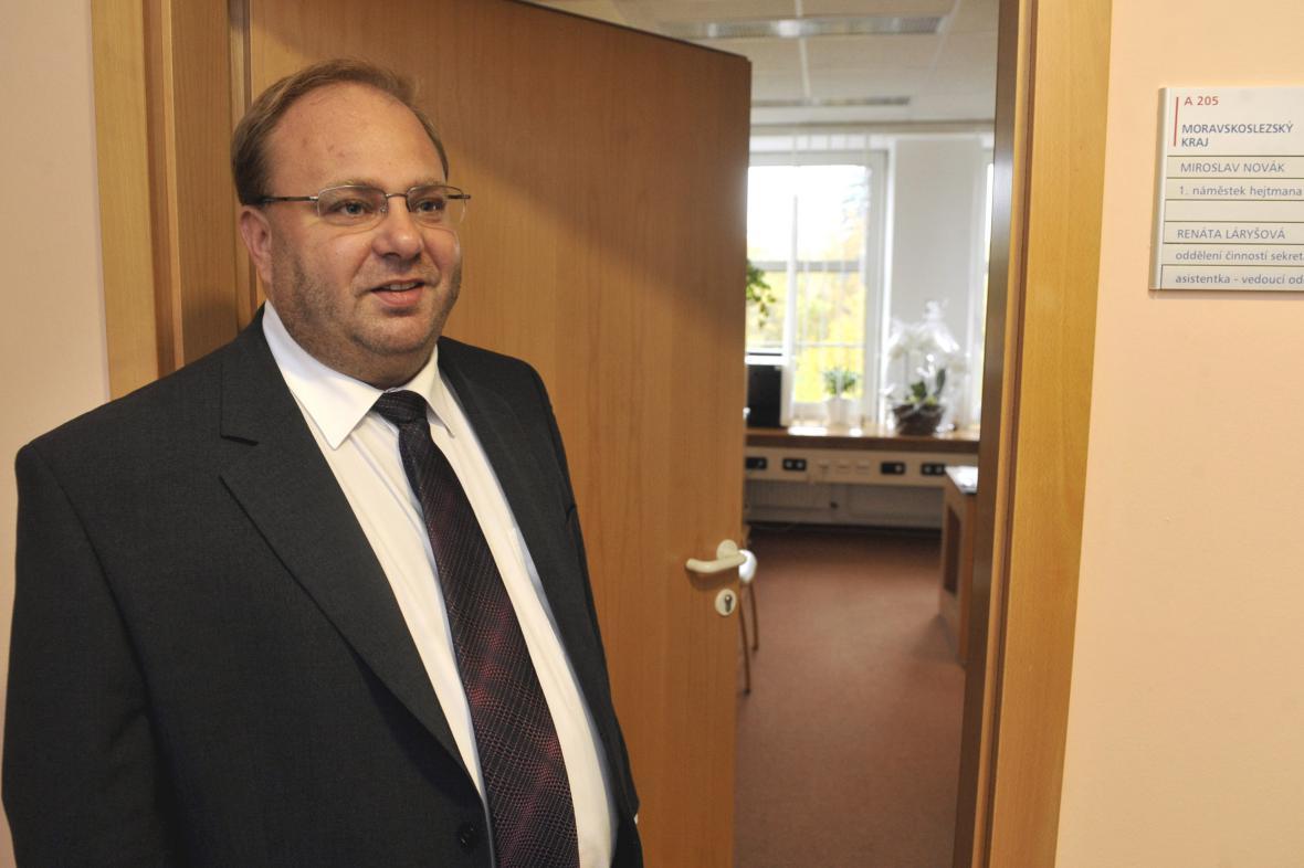 Miroslav Novák, hejtman MS kraje